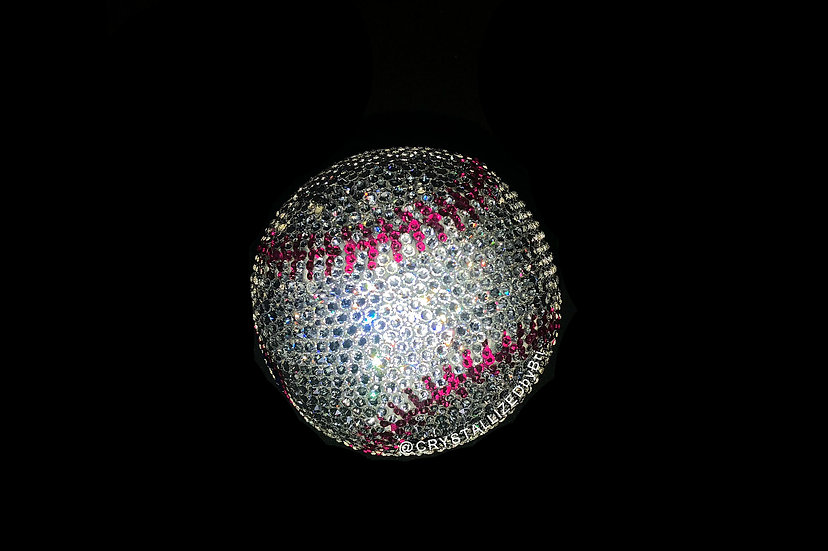 CRYSTALLIZED Full Size Baseball - Choose Your Colors!