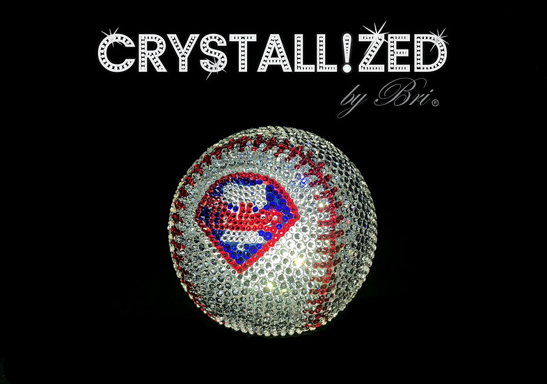 CRYSTALLIZED Full Size Baseball - Philadelphia Phillies