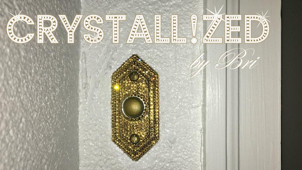 CRYSTALL!ZED Doorbell Plate