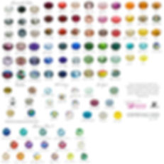swarovski crystal color chart bling crystallized by bri