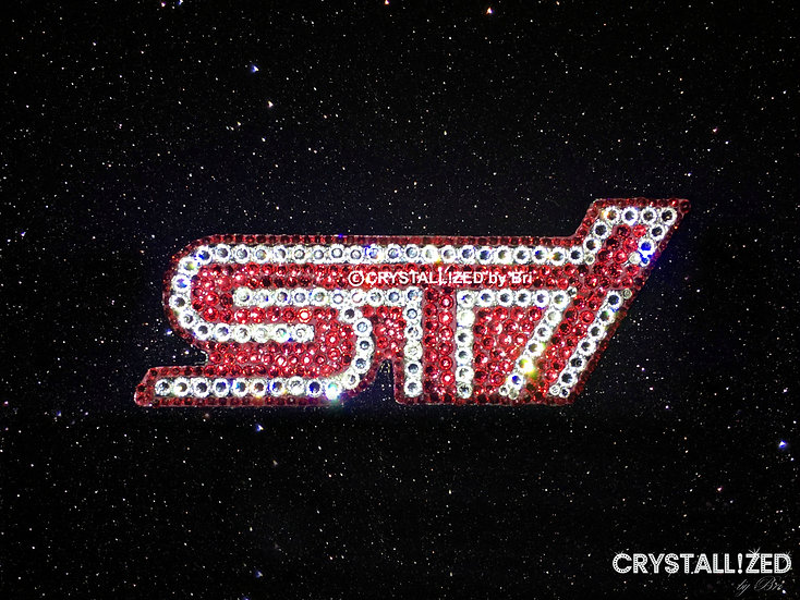 CRYSTALL!ZED Subaru STI Emblem - Grille