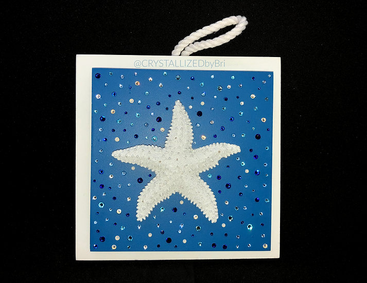 CRYSTALL!ZED Beach Wall Plaque - Starfish