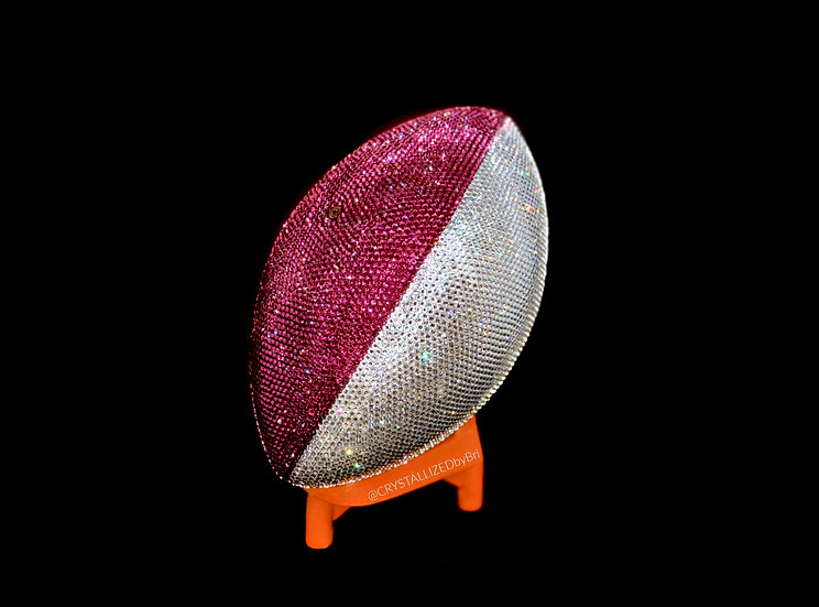 CRYSTALLIZED Full Size Football - Choose Your Colors!