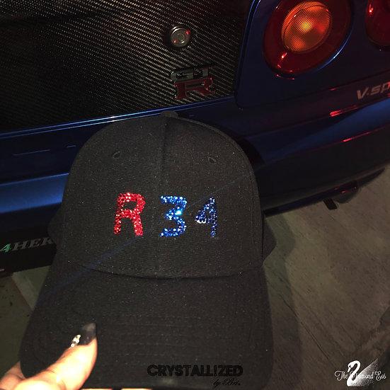 Custom CRYSTALLIZED Hat - R34 GT-R