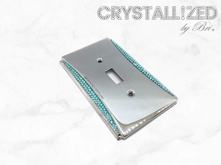 Accent CRYSTALL!ZED Switch Plate - Any Configuration