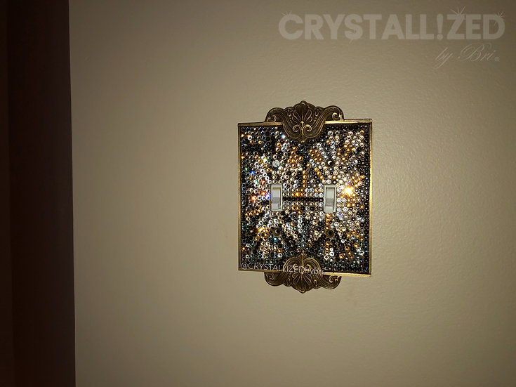 Custom CRYSTALL!ZED Switch Plate - Any Configuration