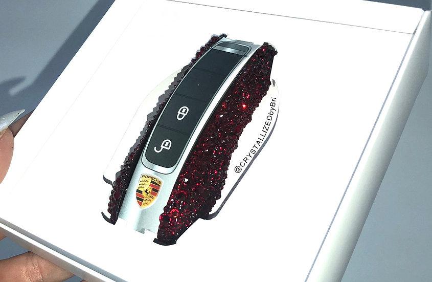 CRYSTALL!ZED Porsche Key Sides