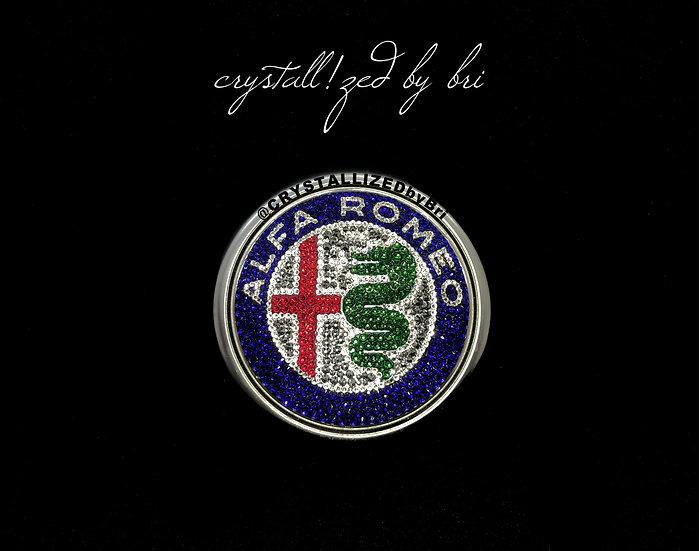 CRYSTALL!ZED Alfa Romeo Emblem