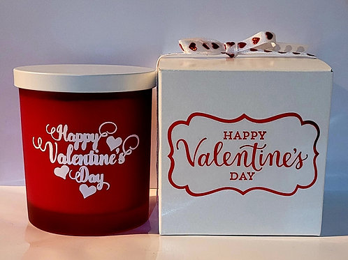 Customized Valentine Gift Collection Candles