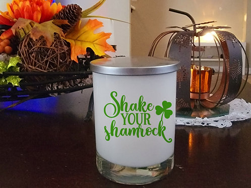 St Patricks Day limited edition candle