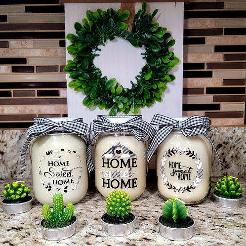 Home Sweet Home Collection Candles