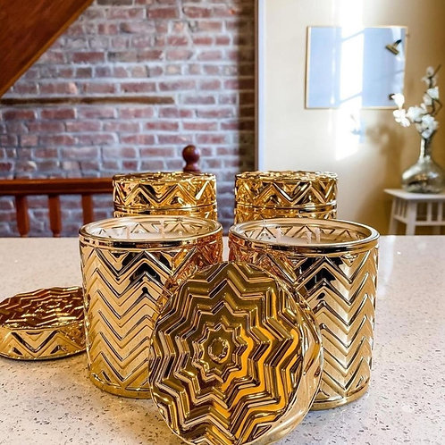 Luxe Collection Royal Gold Theme Candles