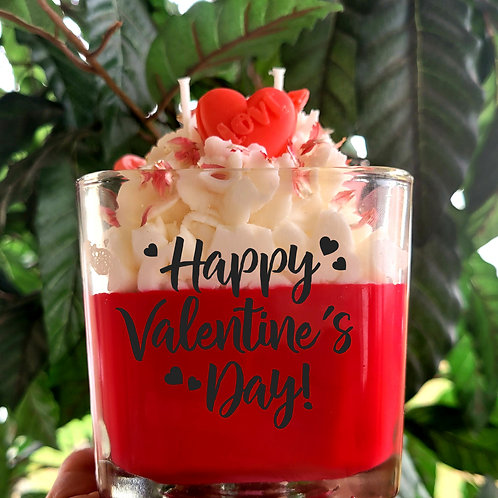 Valentine candle collection