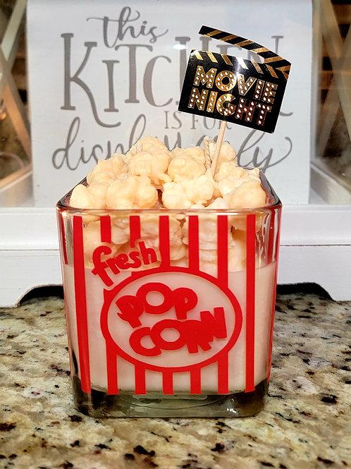 Popcorn theme Candle 18 oz