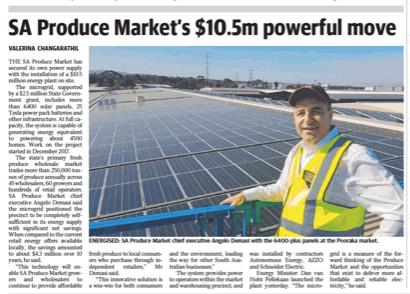 SA Produce Market's $10.5m powerful move