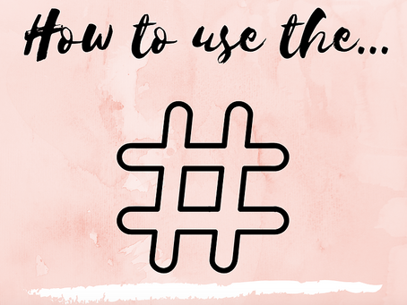 ARE HASHTAGS KILLING YOUR SOCIAL MEDIA?