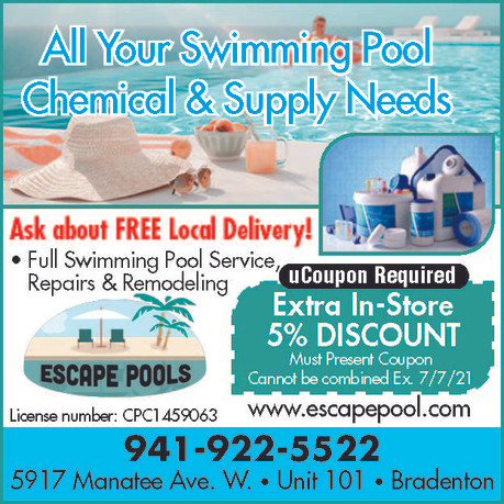 All Your Pool Supply Needs - Escape Pools