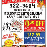 Rico's offers delicious home-style Italian dishes you'll love