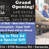 The Spot Social Club - come join the fun! Adult Games of Skill, Bridge, Marjane and more!