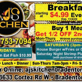 Aj's Kitchen - Join them Fridays AYCE Fish Fry $10.99