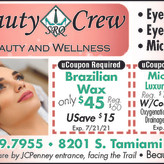 SRQ Beauty Crew Located in Sarasota Square Mall