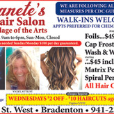 Get Your New Sassy Style Here @ Jeanete's in Downtown Bradenton