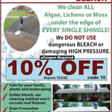 Consumer Reports praises Roof Shampoo® AND warns AGAINST bleach.