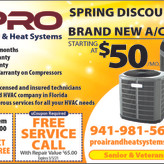 Need A/C Repaired or Replaced - Spring Specials Call Today!