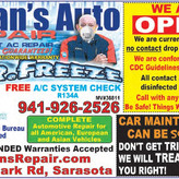 Don't let car maintenance SCARE you! Come to Brian's Auto!