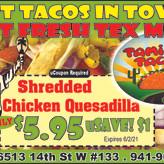 Gourmet Tacos - Yummy