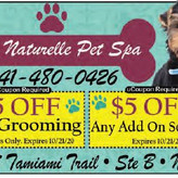 Paw Naturelle is your Eco-friendly pet spa