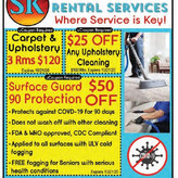 SK Cleaning, where service is key!