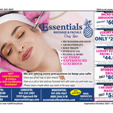Spa Day Special only $119.99, the PERFECT gift at Essentials Massage & Facials!