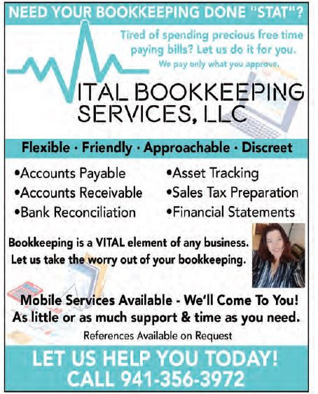 TIred of spending your time paying bills? Need tax help? Let Vital Bookkeeping Services help!