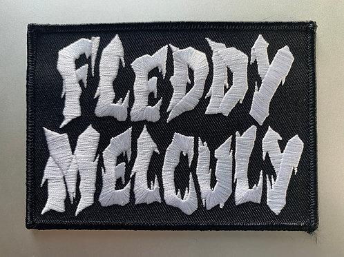 Fleddy Melculy old school logo PATCH