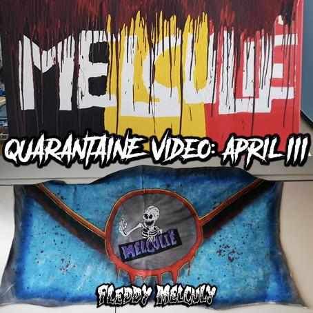 Melculië, de quarantaine-video!