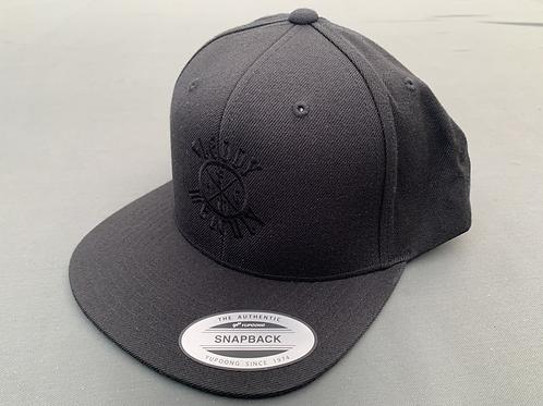NEW Fleddy HC logo all black Snapback