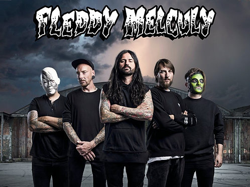 NEW Fleddy Melculy signed poster (A1)