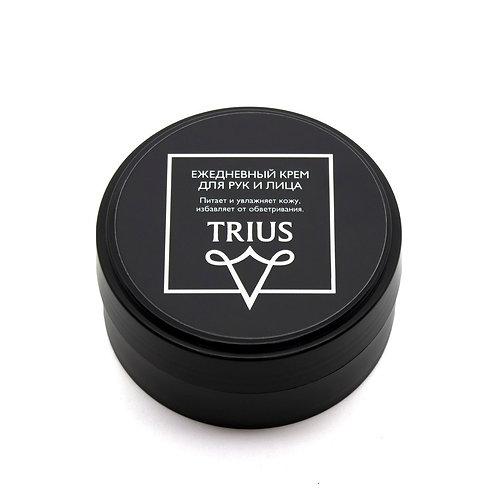 Ежедневный мужской крем для рук и лица TRIUS