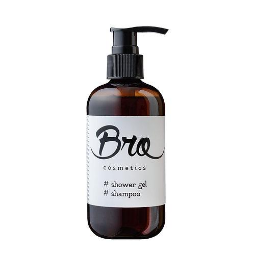 Шампунь-гель  2 в 1 Bro Cosmetics