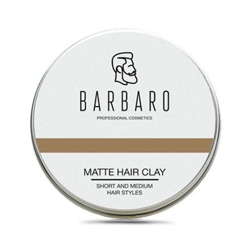 Матовая глина для укладки волос Barbaro