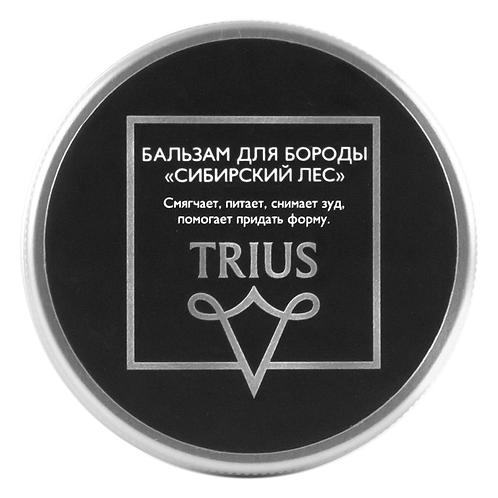 """Бальзам для бороды """"Сибирский лес"""" TRIUS"""