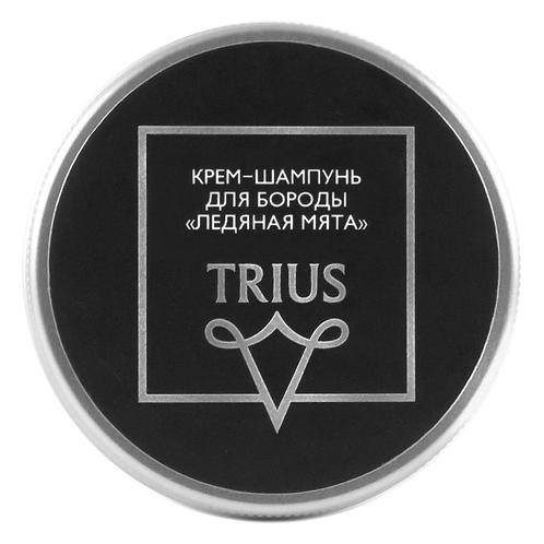 """Крем-шампунь для бороды """"Ледяная мята"""" TRIUS"""
