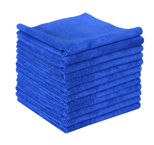 16x16 Edgeless Premium Microfiber Cloths, Dozen