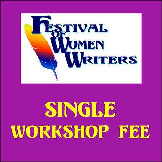 Single Workshop Fee