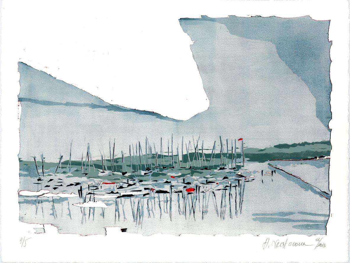Anastasiya_Nesterova_-_Yachtclub_im_Nebel,_2013,_Farbholzschnitt,_50_×_65_cm.jpg