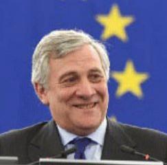 Antonio Tajani élu nouveau Président du Parlement européen