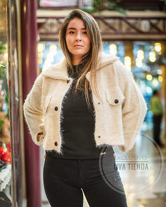Tejido/chaquetita lana grueso