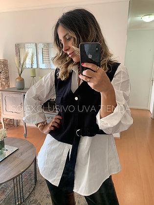 Tejido Vest + Blusa (Oversize sirven hasta talla L)