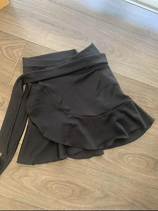 Falda negra vuelos